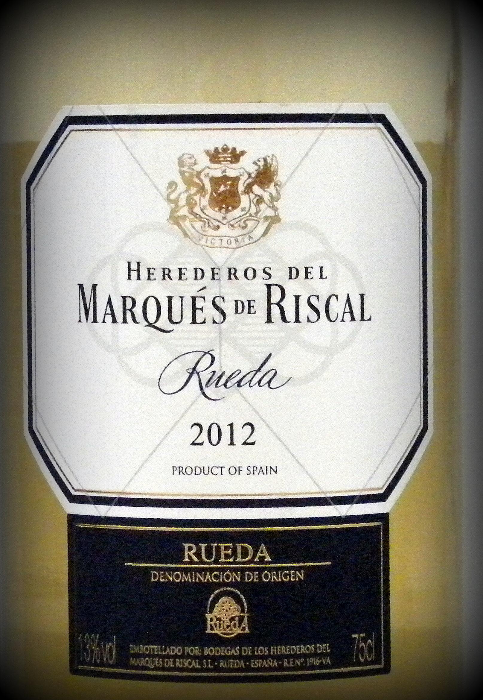 Herdederos del Marqués de Riscal, Rueda