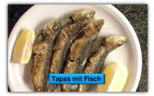Tapas mit Fisch