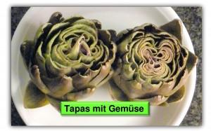 Tapas mit Gemüse