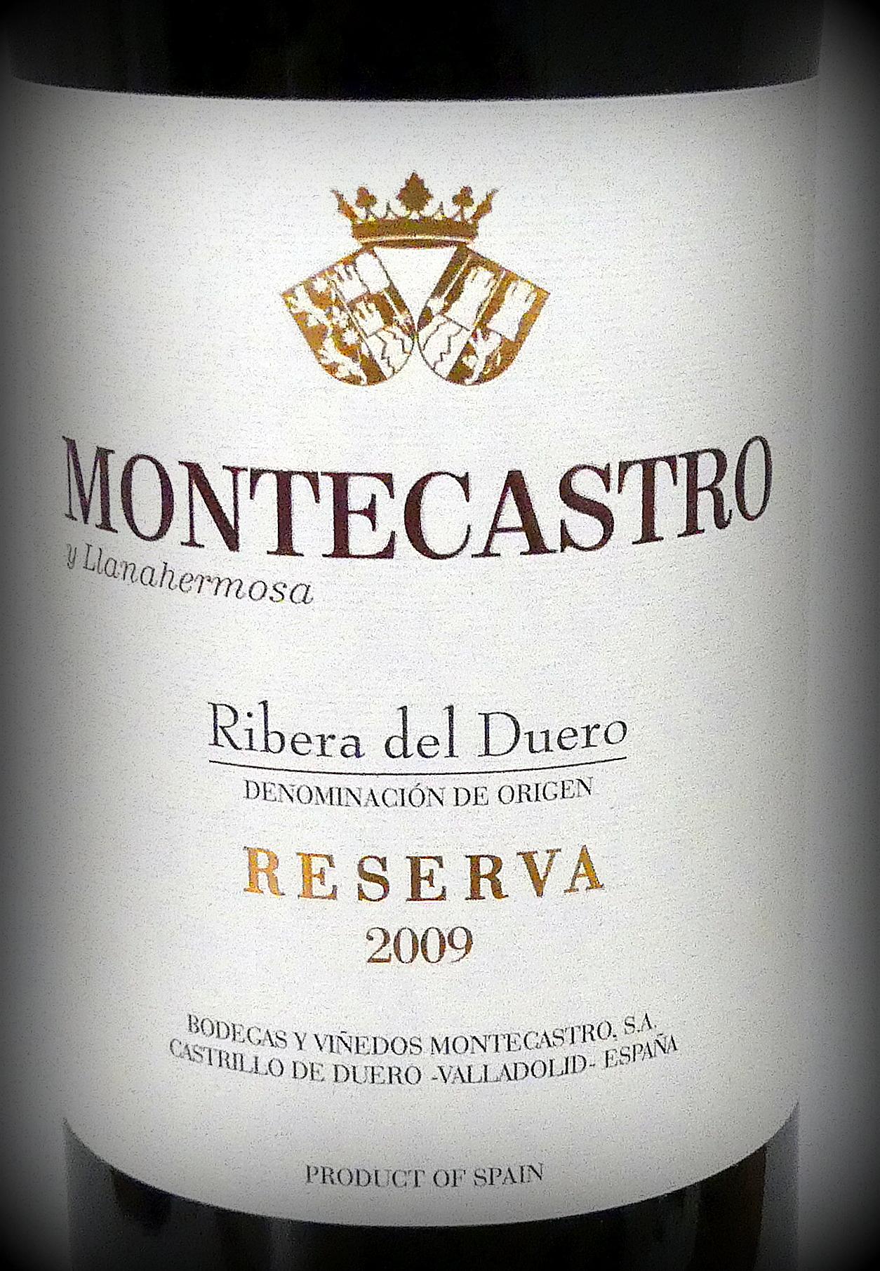 Montecastro Reserva
