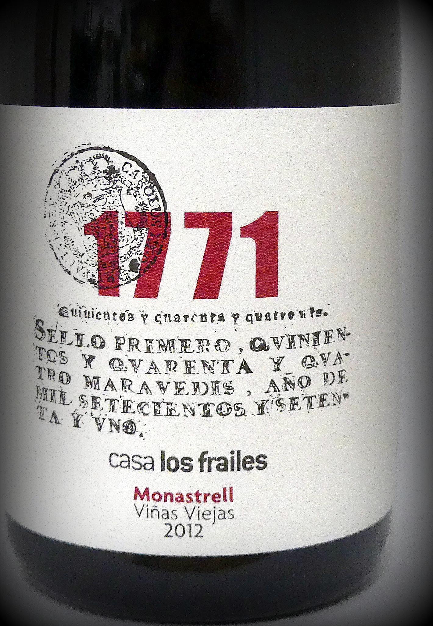 1771 – Casa Los Frailes