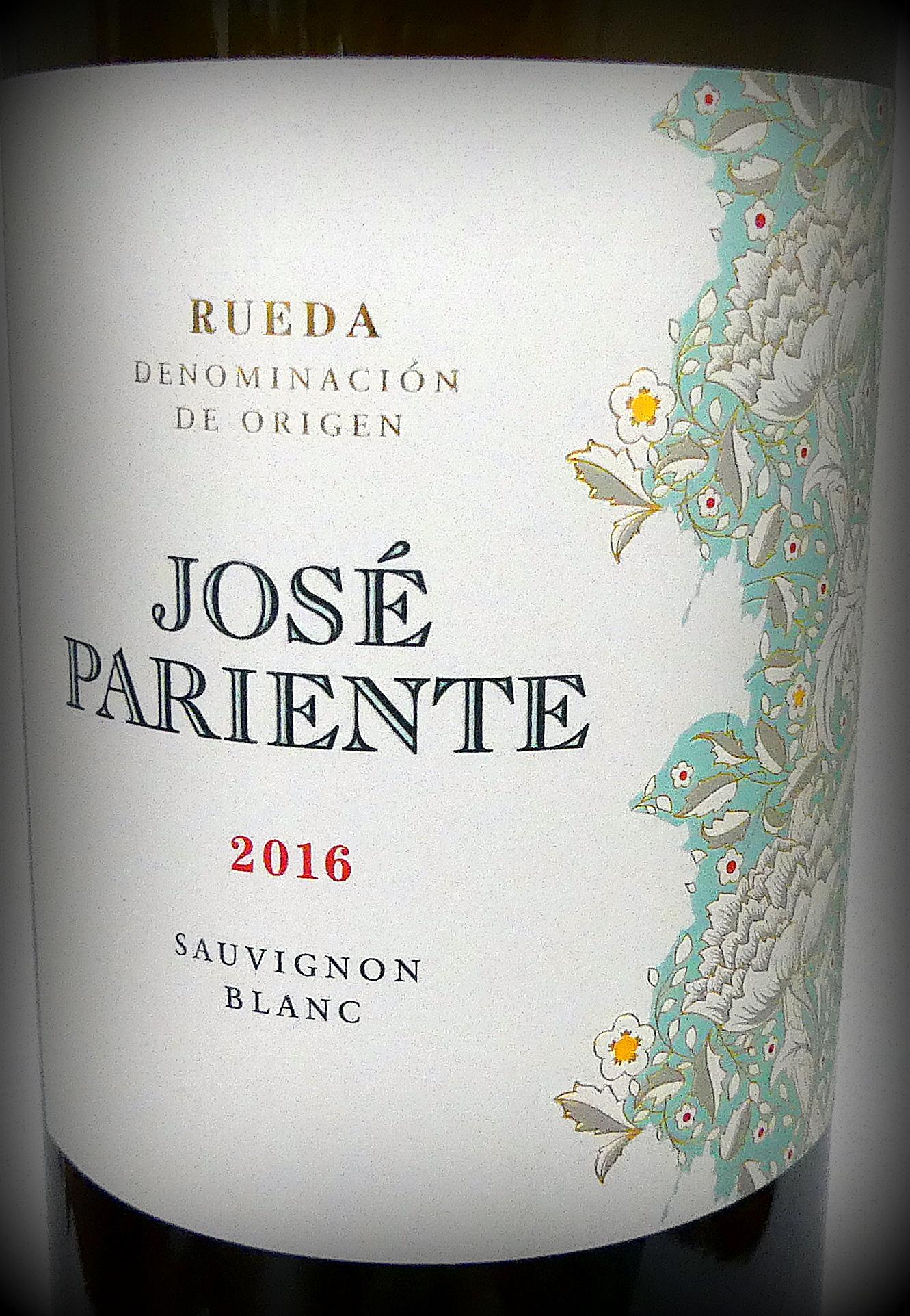 Jose Pariente Rueda DO Sauvignon blanc