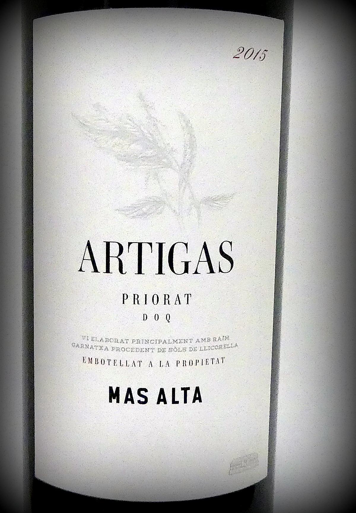Artigas, Bodegas Mas Alta
