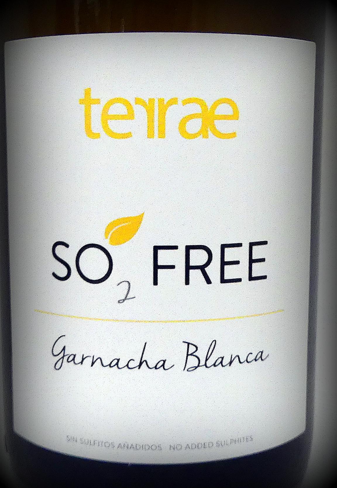 SO2 free Garnacha Blanca, Bodegas Tempore